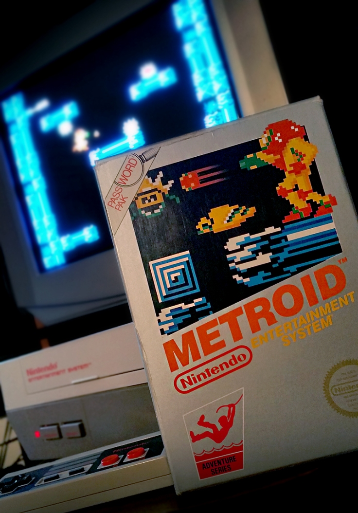 Me and the Metroid Database – Retro Game SuperHyper