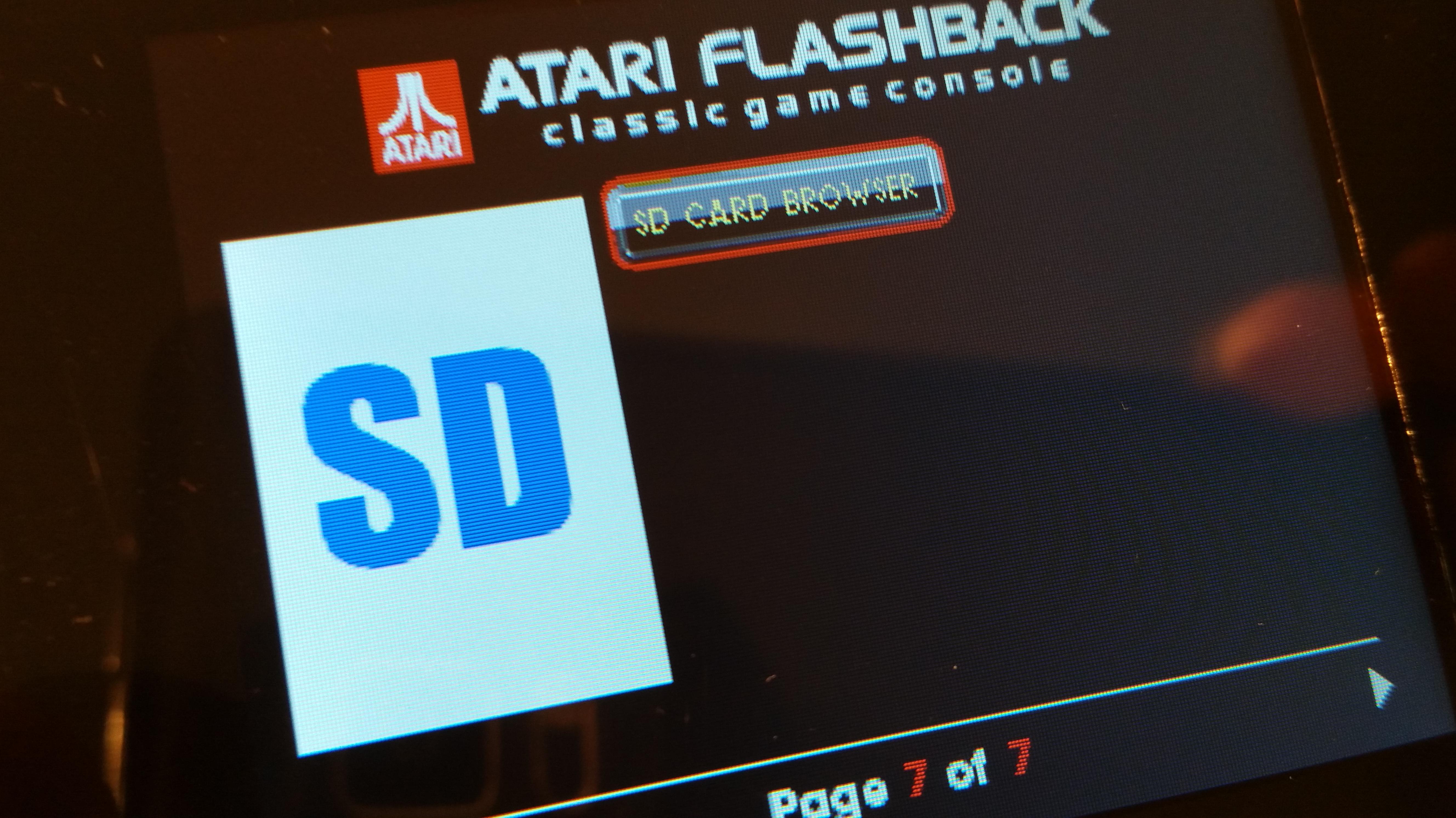 I have this thing: Atari Flashback Portable 2016 – Retro Game SuperHyper