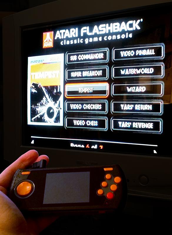 Atari flashback hook up