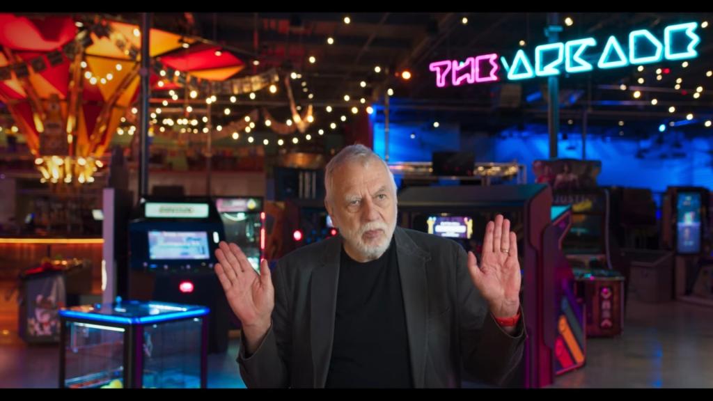 Nolan Bushbnell , creador de Atari cyberpunk 2077